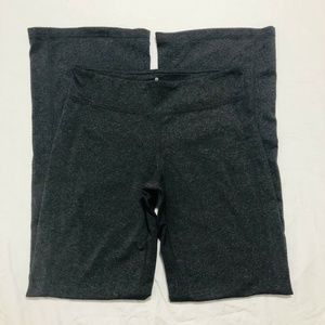 ATHLETA Kick Booty Yoga Pants Mid Rise Gray Sz Sm